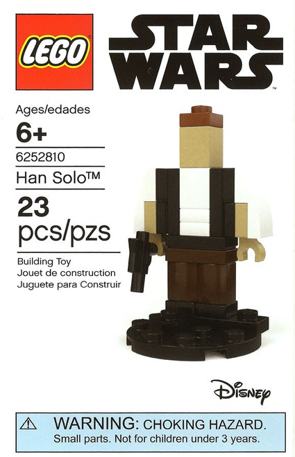 LEGO Star Wars Microbuilds Han Solo Exclusive Mini Set