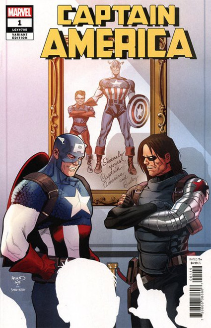 Marvel Comics Captain America #1 Comic Book [Renaud Variant Cover]