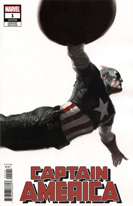 Marvel Comics Captain America #1 Comic Book [Djurdjevic Variant Cover]