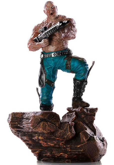Marvel Avengers Infinity War Drax Battle Diorama Statue