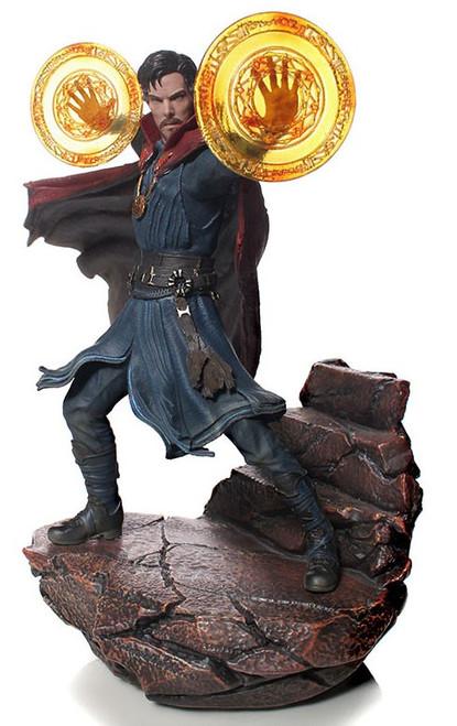 Marvel Avengers Infinity War Doctor Strange Battle Diorama Statue
