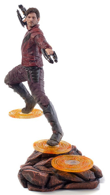 Marvel Avengers Infinity War Star-Lord Battle Diorama Statue