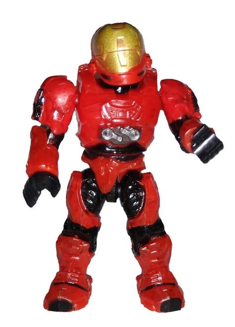 Mega Bloks Halo EVA Spartan 2-Inch Minifigure [Red Loose]