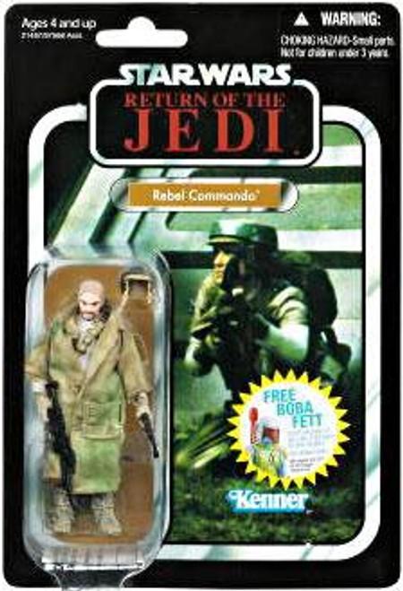 Star Wars Return of the Jedi Vintage Collection 2010 Rebel Commando Action Figure #26 [Light Skin]