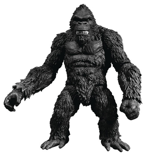 Skull Island King Kong Exclusive Action Figure [Black & White Version]