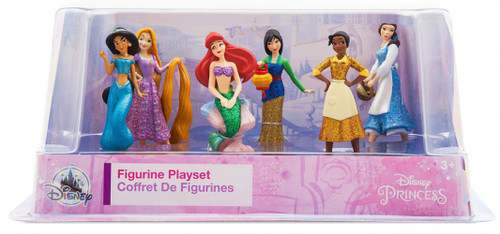 Disney Princess Once Upon a Time Exclusive 6-Piece PVC Figure Play Set