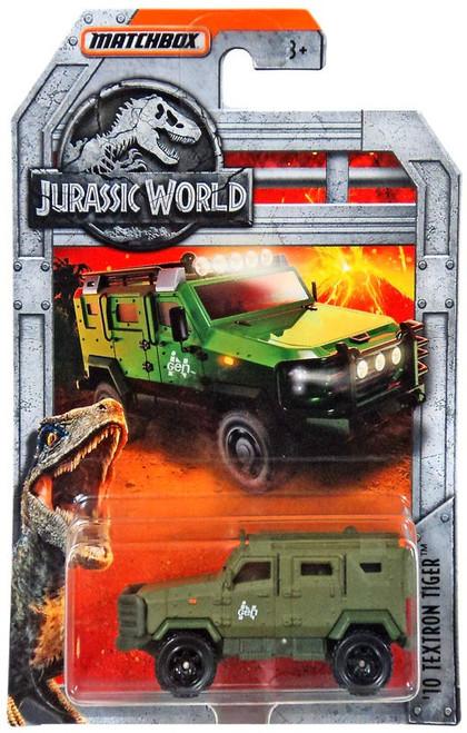 Jurassic World Matchbox '10 Textron Tiger Diecast Vehicle [Green]