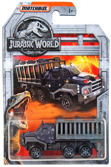 Jurassic World Matchbox Armored Action Transporter Diecast Vehicle