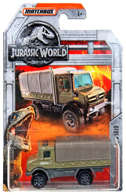 Jurassic World Matchbox Mercedes-Benz Unimog U 5020 Diecast Vehicle [Green]
