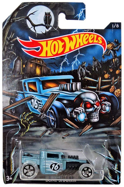 Hot Wheels Happy Halloween! Bone Shaker Diecast Car #1/8