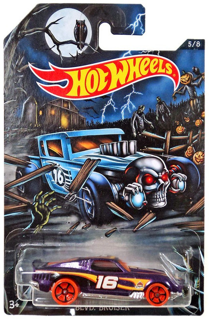 Hot Wheels Happy Halloween! Blvd. Bruiser Diecast Car