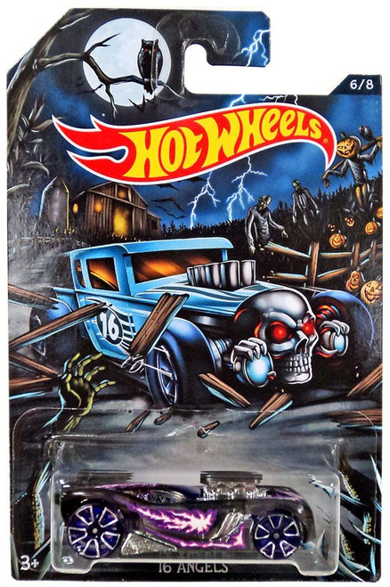 Hot Wheels Happy Halloween! 16 Angels Diecast Car