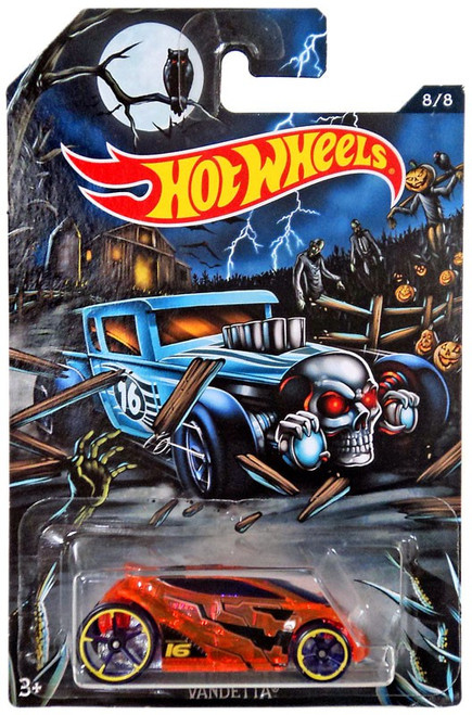 Hot Wheels Happy Halloween! Vandetta Diecast Car