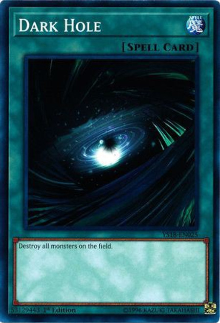 YuGiOh Starter Deck: Codebreaker Common Dark Hole YS18-EN025