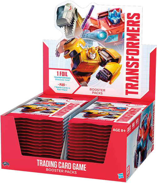 Transformers Trading Card Game Base Set Booster Box [30 Packs]