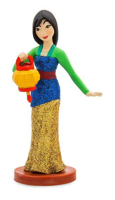 Disney Princess Mulan Exclusive 3-Inch PVC Figure [In Traditional Dress Loose]