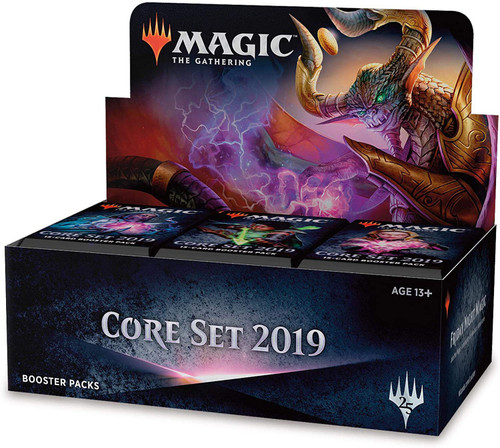 MtG Trading Card Game 2019 Core Set Booster Box [36 Packs]