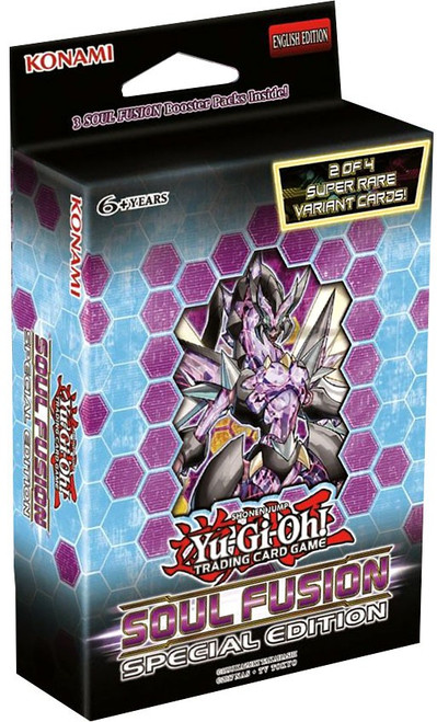 YuGiOh Trading Card Game Soul Fusion Special Edition