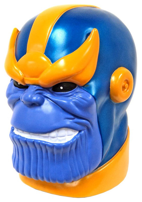 Marvel Thanos Head 10-Inch Vinyl Bank