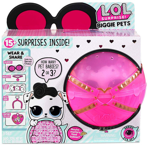 LOL Surprise Series 4 Eye Spy Dollmation Biggie Pets