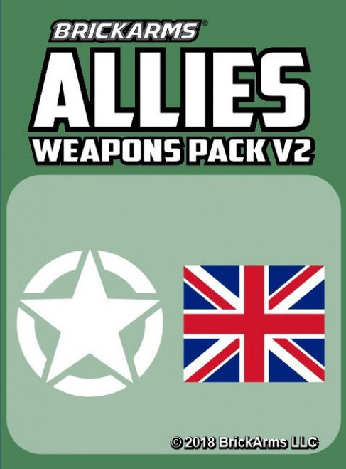 BrickArms Allies Weapons Pack [Version 2]