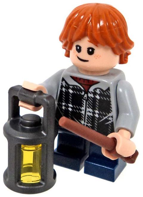 LEGO Harry Potter Ron Weasley Minifigure [Plaid Jacket Loose]