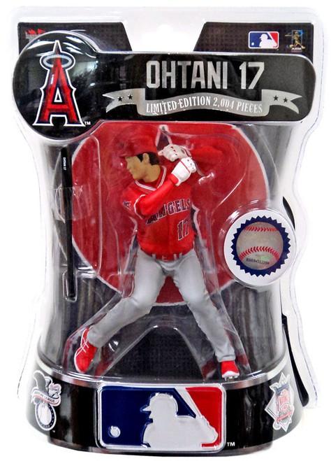 MLB LA Angels 2018 Shohei Ohtani Action Figure [Red Jersey]