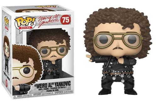 "Funko POP! Rocks ""Weird Al"" Yankovic Exclusive Vinyl Figure #75 [""Fat"" Video]"