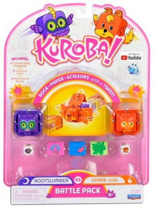 Kuroba! Hootslumber & Spark-Lug Battle Pack