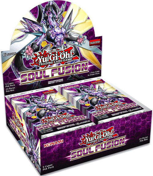 YuGiOh Trading Card Game Soul Fusion Booster Box [24 Packs]