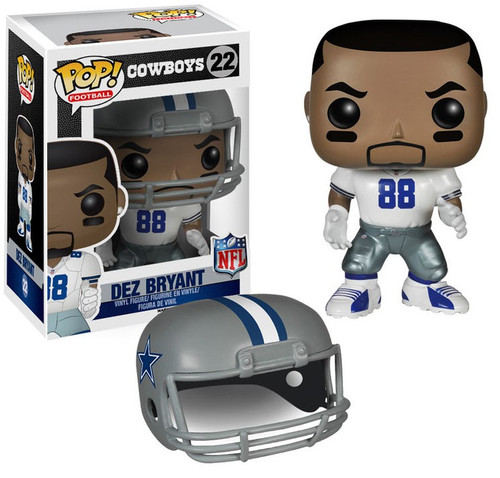 Funko NFL Dallas Cowboys POP! Sports Football Dez Bryant Vinyl Figure #22 [White Jersey, Damaged Package]