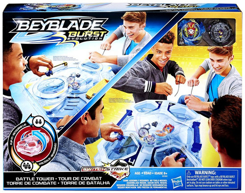 Beyblade Burst Switchstrike Battle Tower Playset