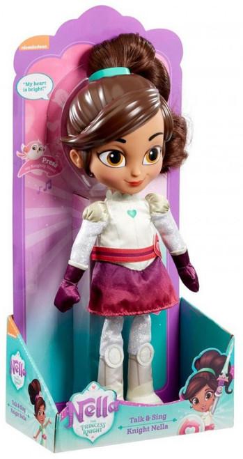 Nickelodeon Nella The Princess Knight Talk & Sing Knight Nella Exclusive 12-Inch Plush Doll