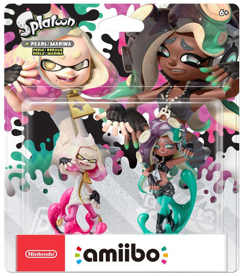 Nintendo Splatoon Amiibo Pearl & Marina Mini Figure 2-Pack