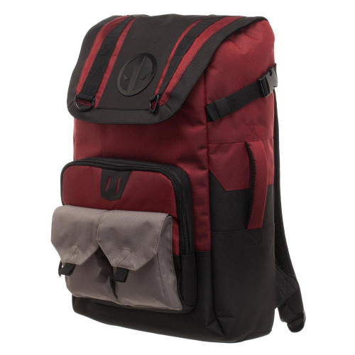 Marvel Deadpool Backpack [Black & Red]