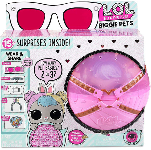 LOL Surprise Series 4 Eye Spy Hop Hop Biggie Pets