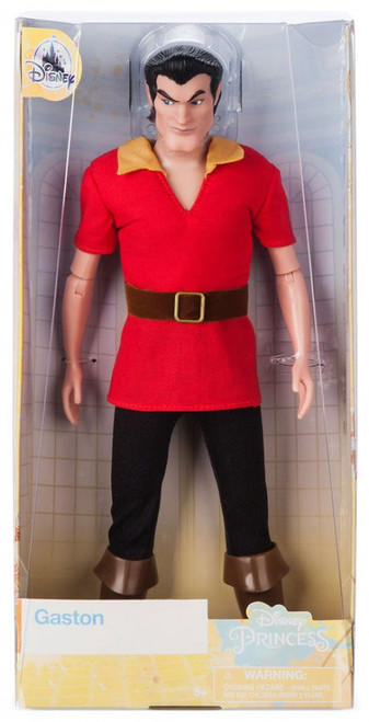Disney Princess Beauty and the Beast Classic Gaston Exclusive 12-Inch Doll