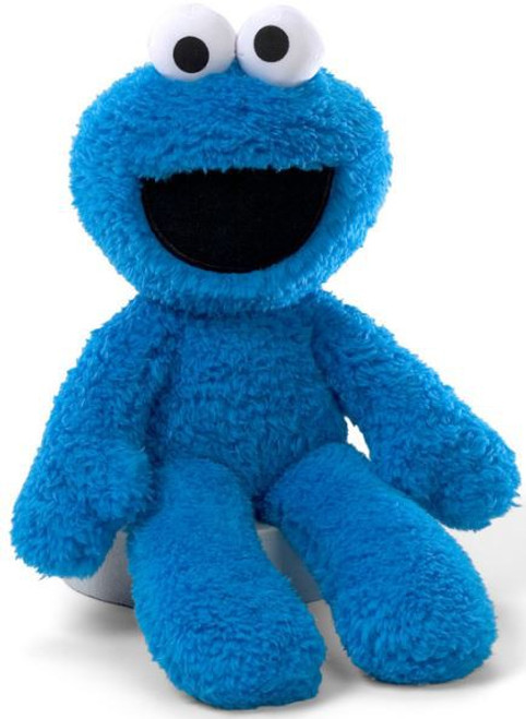 Sesame Street Take Along Cookie Monster 13-Inch Plush