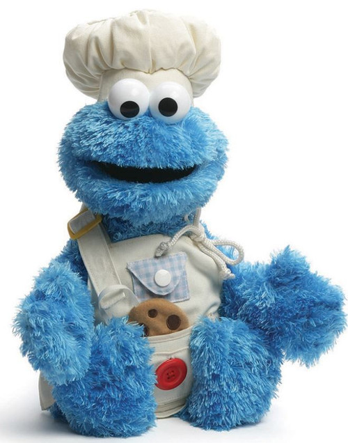 Sesame Street Teach Me Cookie Monster 17-Inch Plush