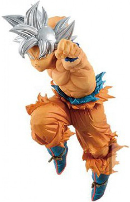 Dragon Ball Super World Figure Colosseum Ultra Instinct Son Goku 6.2-Inch Collectible PVC Figure