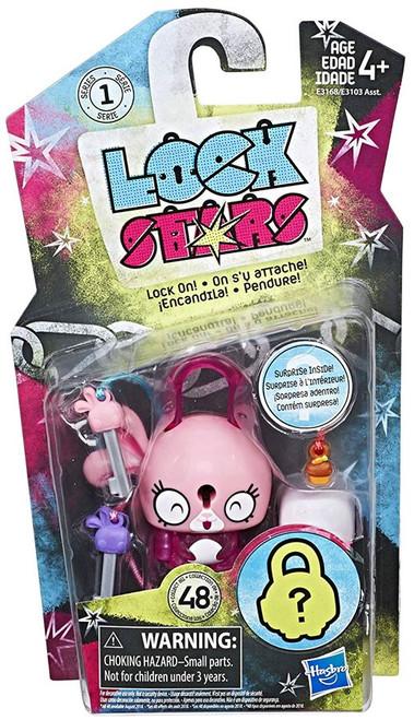 Lock Stars Pink Bunny Figure