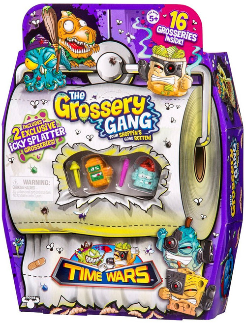 The Grossery Gang Series 5 Time Wars Mini Figure 16-Pack [RANDOM Figures]