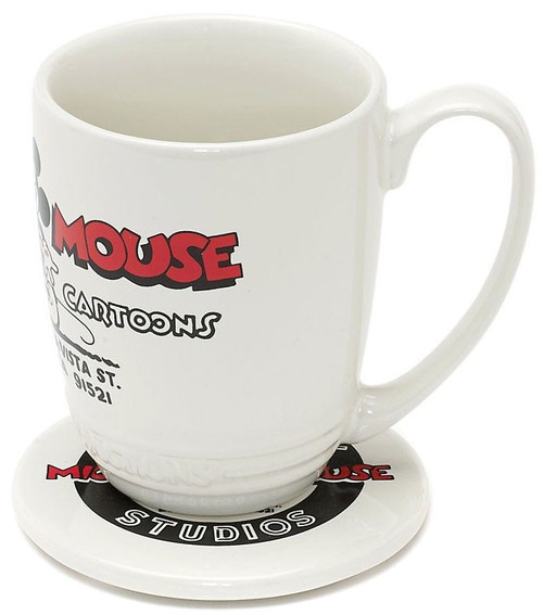 Walt Disney Studios Collection Walt Disney Studios Mickey Mouse Exclusive Mug & Coaster Set