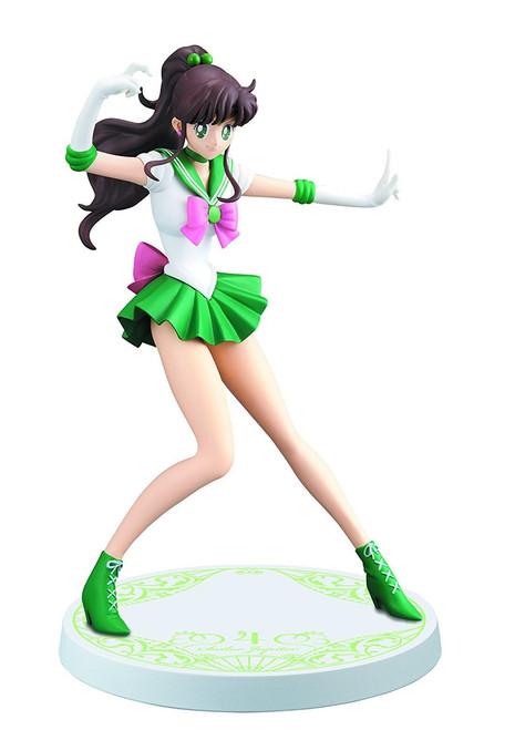 Sailor Moon Girls Memories Sailor Jupiter 6.3-Inch Collectible PVC Figure