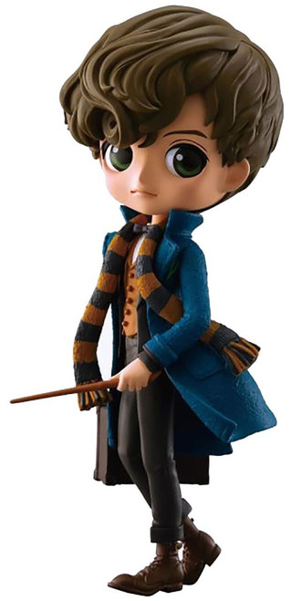 Harry Potter Fantastic Beasts Q Posket Newt Scamander 6-Inch Collectible PVC Figure [Normal Color Version]