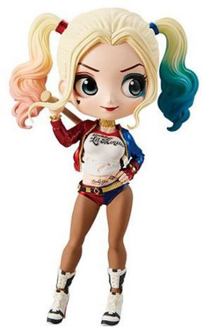 DC Suicide Squad Q Posket Harley Quinn 6-Inch Collectible PVC Figure [Movie Version]