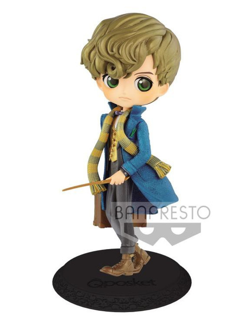 Harry Potter Fantastic Beasts Q Posket Newt Scamander 6-Inch Collectible PVC Figure [Pearl Color Version]