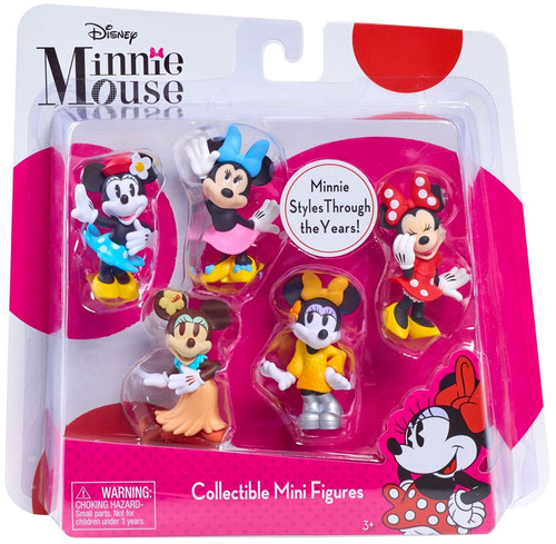 Disney Minnie Mouse Bowtique Figure 5-Pack
