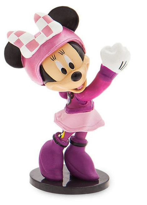 Disney Mickey & Roadster Racers Minnie Mouse Exclusive 3-Inch PVC Figure [Loose]