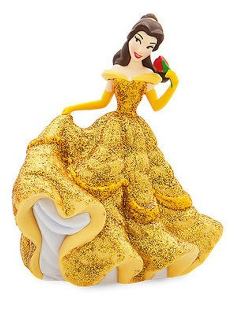 Disney Princess Beauty and the Beast Belle in Ballgown Exclusive 3-Inch PVC Figure [Glitter Loose]